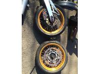 suzuki drz 400 sm parts almost complete bike in parts