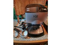 VIVA GAGGIA COFFEE MACHINE (very good condition, barely used, all accessories included)
