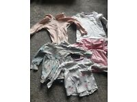 Bundle of girls clothes 34 items 9-12 months great condition