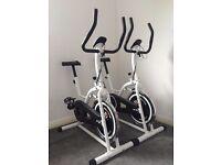 2 Exercise bikes