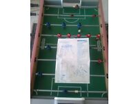 Table football full size table good condition and solid