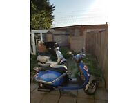 Lambretta 125N With Only 45543 Miles Everything Works As It Should
