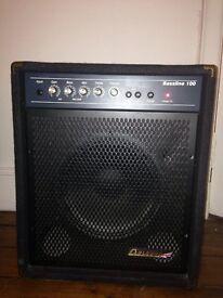 Carlsbro bassline 100 watt amplifier
