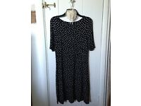 Next Polka Dot Dress - size 16