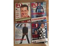 15 F1 Magazines from 2000 - 2003.