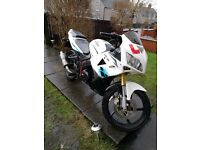 LEXMOTO XTRS 125 . MOT Aug 17 . Sweet runner . Full lextek s/steel exhaust system . Very quick!!