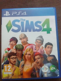 bargain new sims4 ps4 game