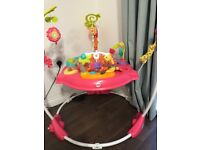 Pink jumperoo