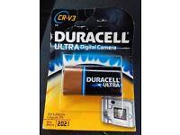 Duracell CR-V3 battery