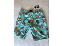NEW - VILEBREQUIN - MEN'S BATHING SUIT TRUNKS - LARGE