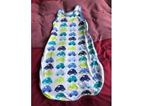 Baby sleeping bag 12-18m 1 tog