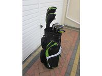 Masters Ladies RH set of clubs + bag