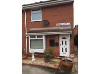 2 Bed semi detached house with drive way