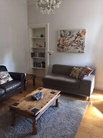 Gorgie, Bright spacious 1 bedroom flat with study/nursery