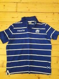 BT Macron scotland rugby polo