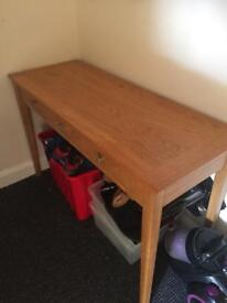 Very heavy console table
