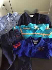 Ralph Lauren baby boys clothes bundle age 12 months