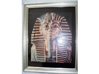 Set of 3 framed pictures with an Egyptian theme