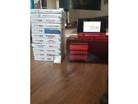Nintendo 3DS + 12 games, comes with original box, charger and docking station