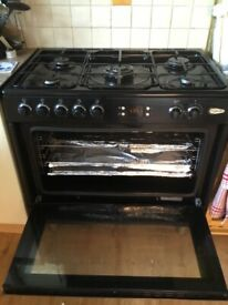 Flavel Dual Fuel Single Oven Range cooker