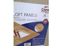 Loft Panel 3 in a Pack for 1.19m2 Brand New Bought more than we need North London Pick Up