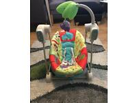 Fisher price jungle vibrating swing chair