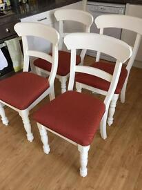4 Beautiful Dining Chairs
