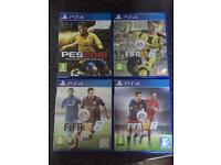 X4 PS4 football games