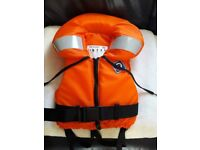 Childs Crewsaver Spiral Life Jacket (New - Never Used)