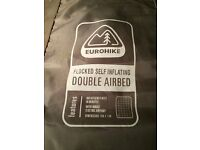 Eurohike Double Airbed with built in pump