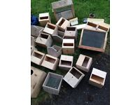 Lots of bird boxes, carriers, net etc etc lots new job lot bargain