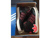 Adidas High top trainers