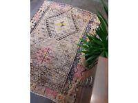 ESTA - Antique Traditional Vintage Persian Wool 180 x 135cm Handmade Carpet Rugs