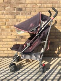 Pushchair Maclaren Quest with ALL EXTRAS, excellent condition