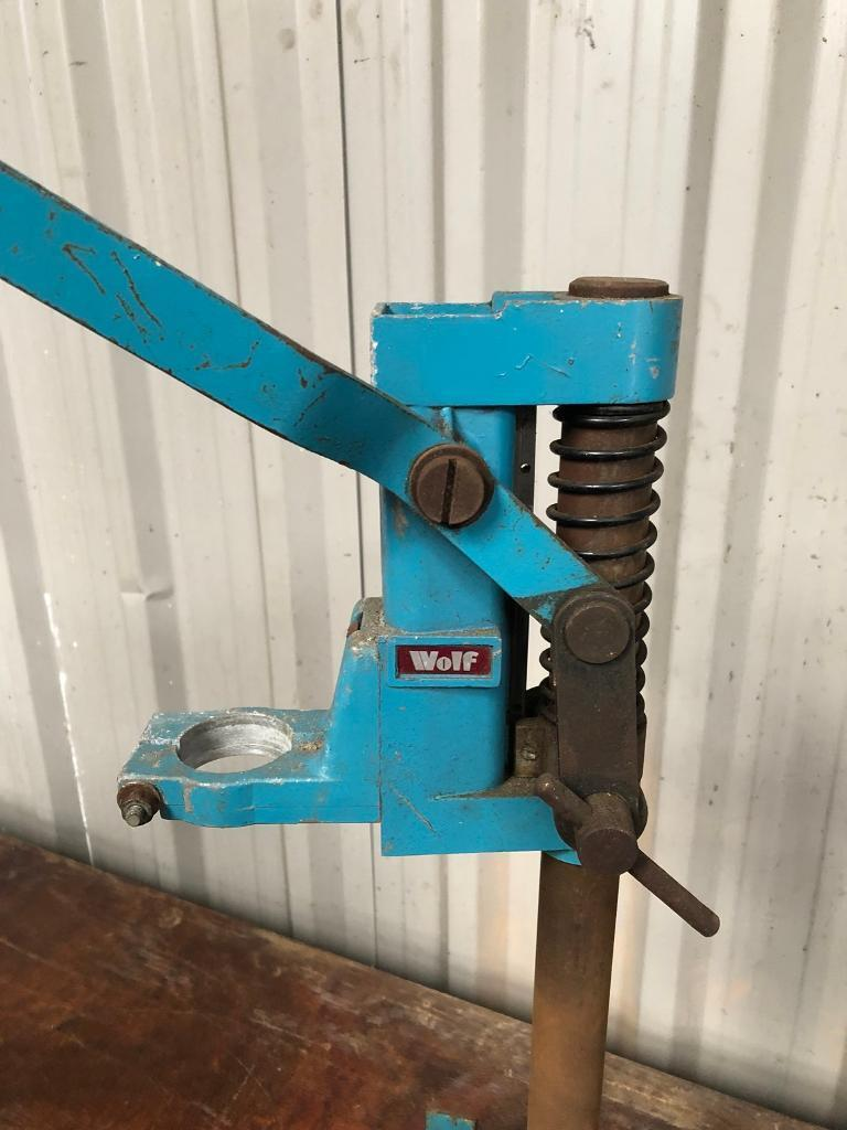 Wolf Drill Press Stand No Drill Good Condition Perfect