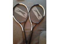 Two Slazenger Smash Tennis Racket - Never been used - £15