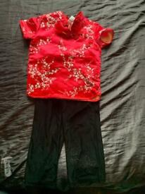 Chinese style 2 piece set gorgeous 18-24 months