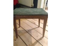 Harris Lebus retro vintage wooden dressing table piano stool