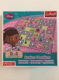 Snakes & ladders Doc McStuffins game