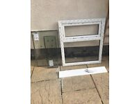 Brand new 915x1040 Window complete with glass, frame, cill and handle. A energy rating