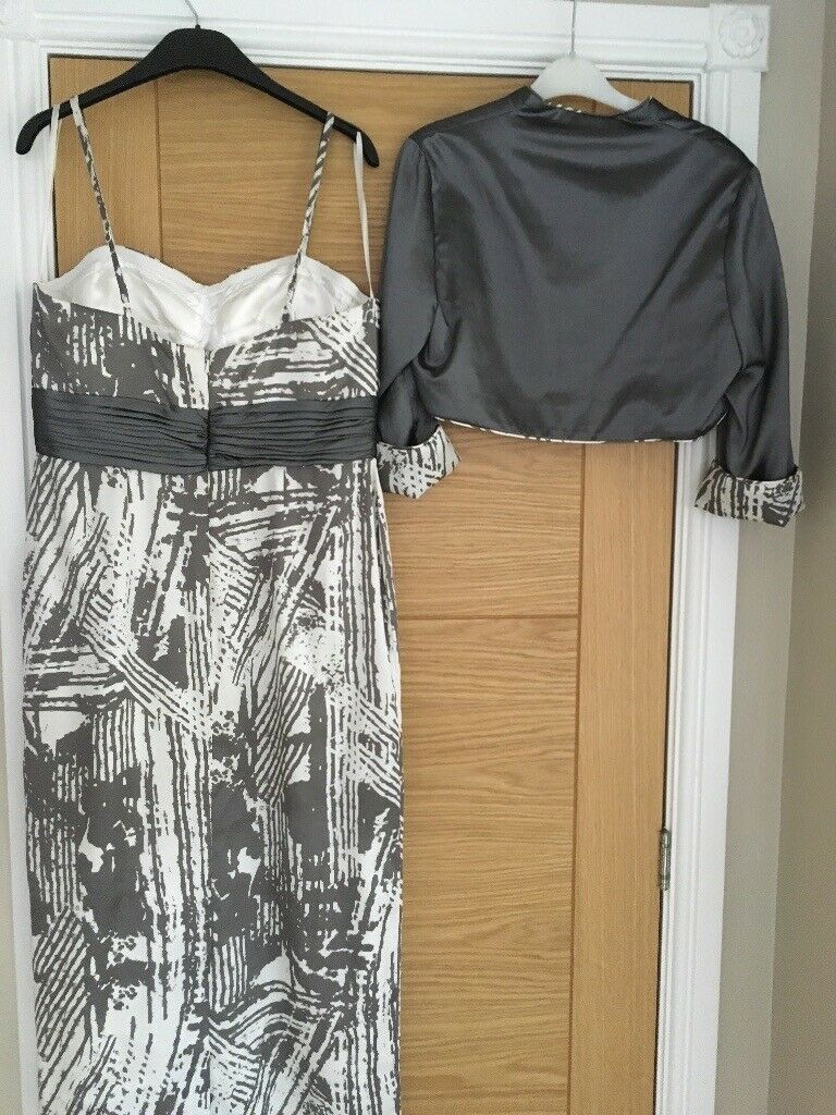 b9addd3a572 Mother of Bride Outfit Designer Gina Bacconi Elegant Dress  Jacket never  worn tags on was 435.00