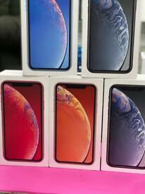 IPHONE 💥XR 64GB UNLOCK 💥BRAND NEW BOXED ONE YEAR APPLE WARRANTY