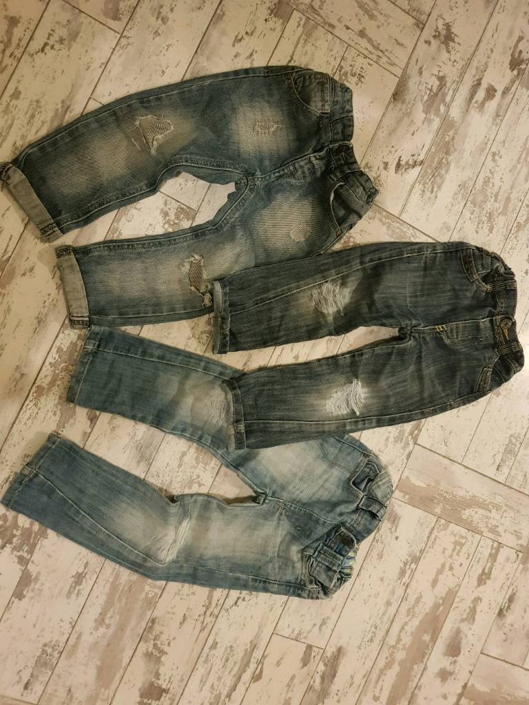 Boys 2-3 Distressed Jeans