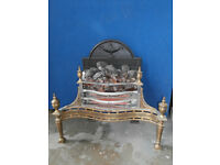 Antique Brass Fire Place (Delivery)
