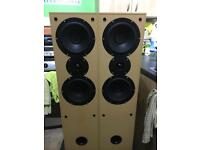 Floor standing Home hifi stereo speakers 20-100w