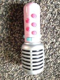 Early learning children's microphone