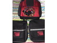 Set of 3 bicycle pannier bags
