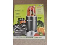 Nutribullet boxed only used once