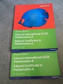 Practice Book 1&2 Edexcel international GCSE Mathematics A Book 1&2