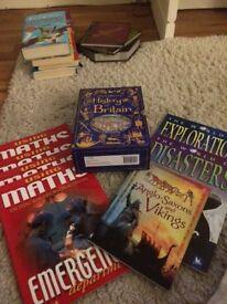 Various educational books for children